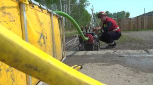 Wildfire protection efforts underway in High Level