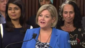 Andrea Horwath says she's ready to be Ontario's official opposition leader