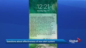 New mobile emergency alert system too startling for some