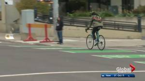 Edmonton election 2017: Will bike lanes influence your city council vote? (01:02)