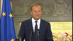 EU's Tusk says perpetrators of Syria chemical attack must be held accountable