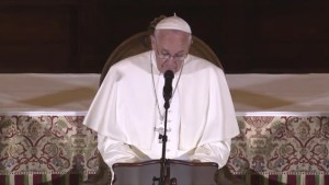 Pope Francis address Catholic sex abuse scandal to U.S. bishops