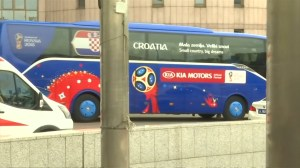 Croatia leaves hotel to head to World Cup final