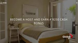 Airbnb under fire for offering $250 bonus in Vancouver's tight rental market