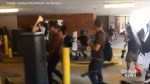 Man assaulted by white nationalist protesters across the street from Charlottesville PD