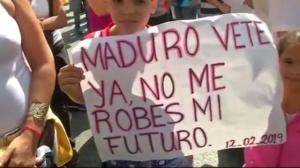 Nationwide protests held against Maduro in Venezuela