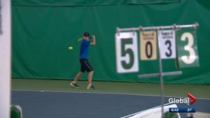 Accomplished Calgary tennis player passes the torch to his talented son