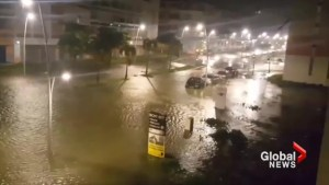 Hurricane Maria causes widespread flooding on Guadalupe