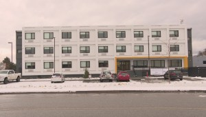 Kelowna business operators report no major problems since a supportive housing complex for the homeless opened at the beginning of November