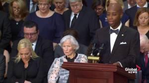John McCain funeral: Senate chaplain delivers benediction at U.S. Capitol memorial