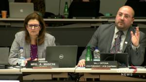 English Montreal School Board chair fends  off calls for her resignation (02:21)