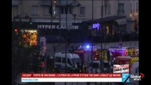 Hostages freed from Paris supermarket, hostage taker killed: Report