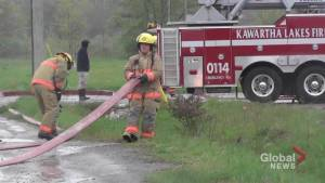 Fire at former Northern Plastics manufacturing plant in Lindsay under investigation