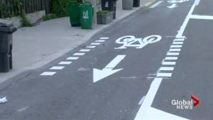 Mixed reviews for Woodbine Avenue bike lanes in Toronto (02:46)