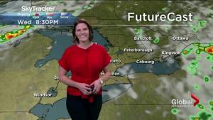 Thunderstorm risk Thursday with cooler temperatures ushering in the weekend