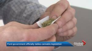 Ontario government introduces cannabis regulation legislation