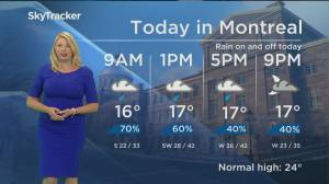Global News Morning weather forecast: Friday June 14, 2019