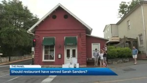 Should Sarah Huckabee Sanders have been denied service at a restaurant?