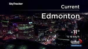 Edmonton New Yea'rs Eve Forecast
