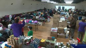 Fort McMurray wildfire: Athabasca residents open their hearts to evacuees