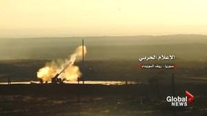 Assad presses assault in southwest Syria, civilians flee