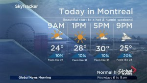 Global News Morning weather forecast: Friday, July 13
