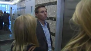 Patrick Brown arrives at PC Party headquarters amid reports he's entering leadership race