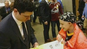 Sidney Crosby makes dream come true for girl battling brain cancer