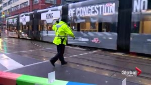 King street pilot project a learning curve for downtown drivers
