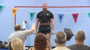 Powerlifters, strongmen liftoff for YMCA
