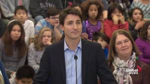 'It was a difficult decision': Trudeau responds to 'broken promise' on electoral reform
