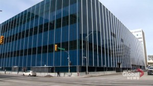 Officer escapes attack outside Winnipeg police headquarters