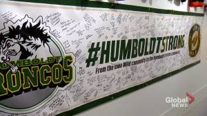 Humboldt Broncos memorial exhibit displays outpouring of support from around the world