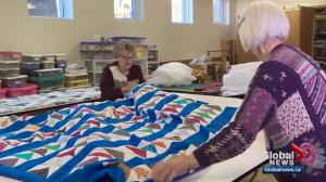 Highly skilled volunteers motivated by love of community and quilting