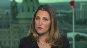 Chrystia Freeland reflects on negotiating USMCA