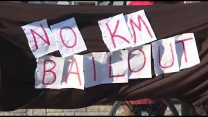 Kingston group protests Kinder Morgan pipeline