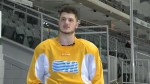 Adrien Beraldo enjoys being a member of the Kingston Frontenacs