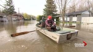 Military, government face anger from flooded out Quebec residents
