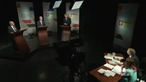 McNeil fends off attacks from PC, NDP leaders in first Nova Scotia election debate (02:07)