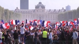 Excitement builds in capitals of France, Croatia ahead of World Cup final