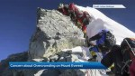 Mount Everest sees climber traffic jam