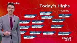 Kelowna Weather Forecast: August 9