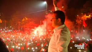 Tens of thousands celebrate as opposition wins big in Istanbul