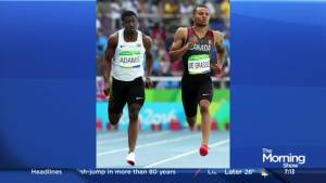 Gold medalist Donovan Bailey on Andre de Grasse's chances in Rio