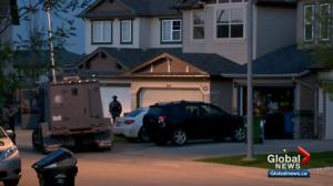 Calgary police officer injured, taken to hospital after responding to domestic call