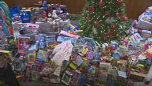 One of the Okanagan's largest Christmas toy drives results in more than 1,200 donated toys