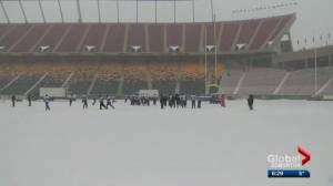Edmonton Eskimos want Commonwealth Stadium to be used 12 months a year (01:45)