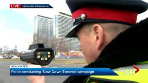 "Toronto police launch 'Slow Down Toronto"" campaign"