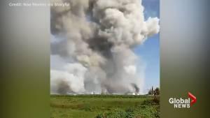 19 dead, dozens injured in fireworks explosion in Mexico