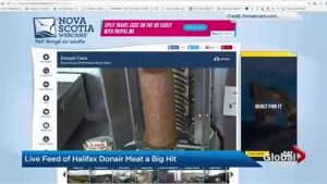 Live feed of Halifax donair meat goes viral online